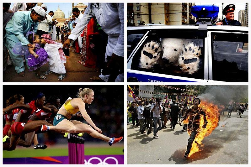Лучшие фотографии Associated Press за 2012год