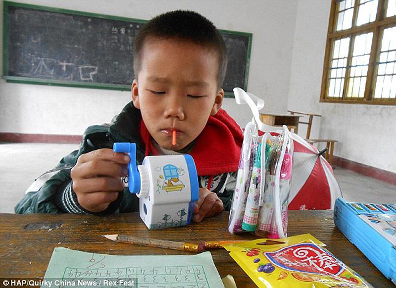 The school with just one pupil 3 Нонсенс для Китая   в школе учится всего один ребенок