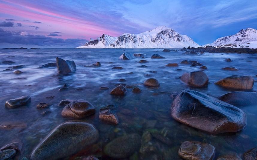 aurora02 Северное сияние в Швеции и Норвегии