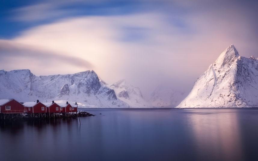 aurora04 Северное сияние в Швеции и Норвегии