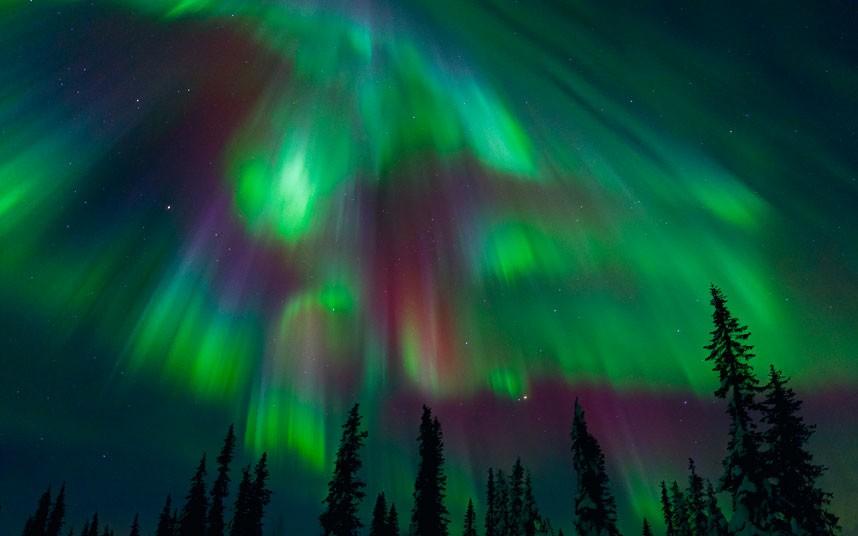 aurora05 Северное сияние в Швеции и Норвегии