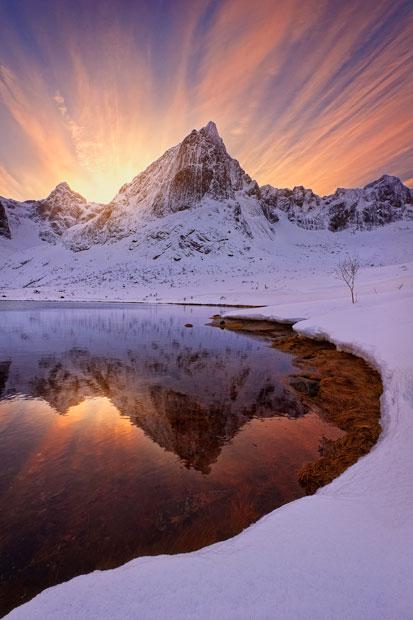 aurora07 Северное сияние в Швеции и Норвегии