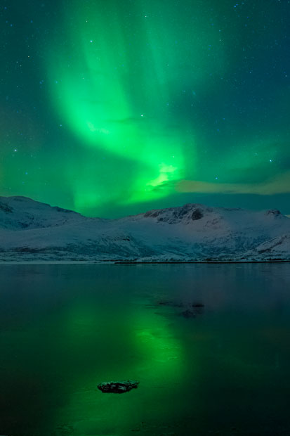 aurora08 Северное сияние в Швеции и Норвегии