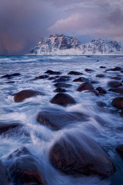 aurora09 Северное сияние в Швеции и Норвегии