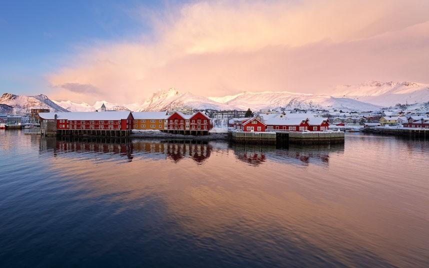aurora12 Северное сияние в Швеции и Норвегии