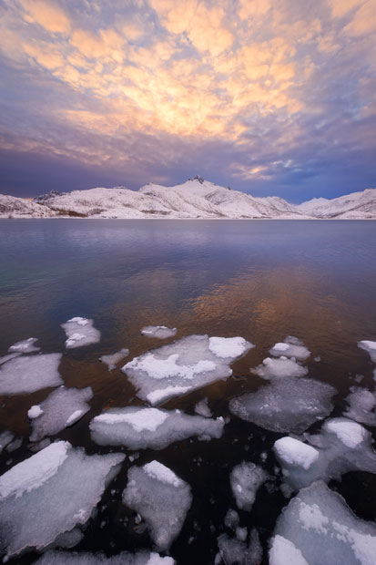 aurora14 Северное сияние в Швеции и Норвегии