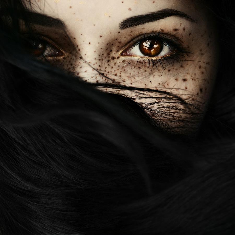 avtoportretixanni 22 Мрачные и необычные автопортреты Твиг Капры из Нью Йорка