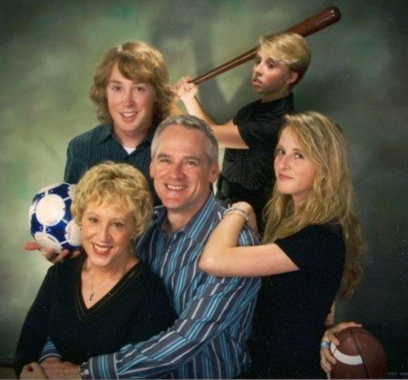 Нелепые семейные фото американцев