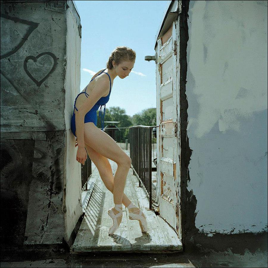 balerio0 Балерины на улице