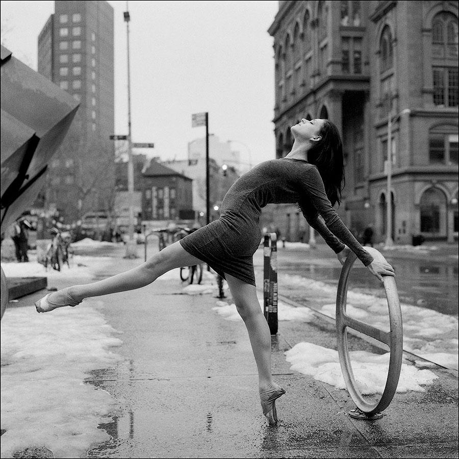 balerio5 Балерины на улице