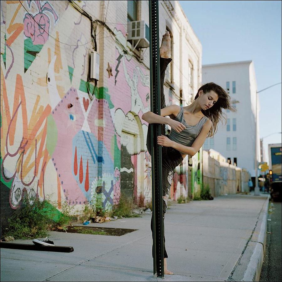 balerio8 Балерины на улице