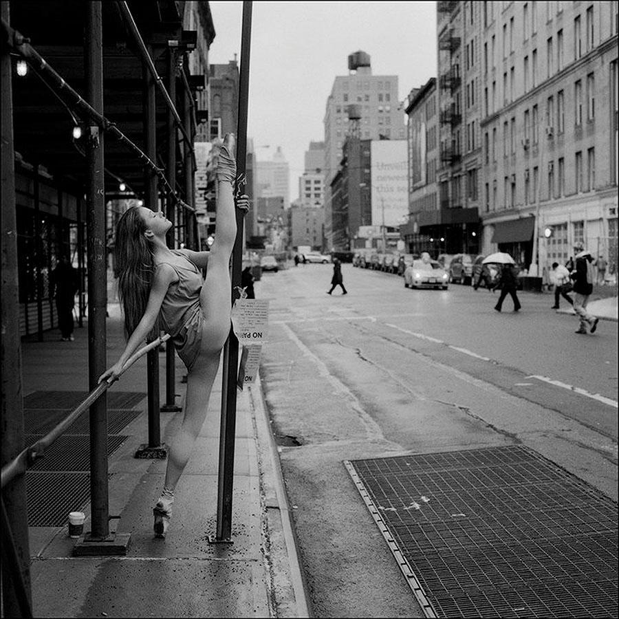 balerioB Балерины на улице