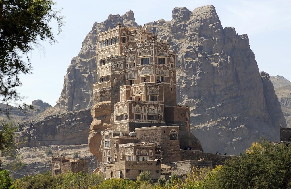 castle01 Дворец Имама Яхья в Йемене
