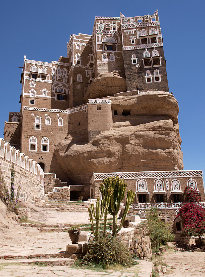 castle02 Дворец Имама Яхья в Йемене