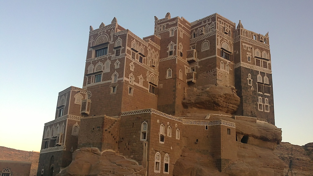 castle03 Дворец Имама Яхья в Йемене