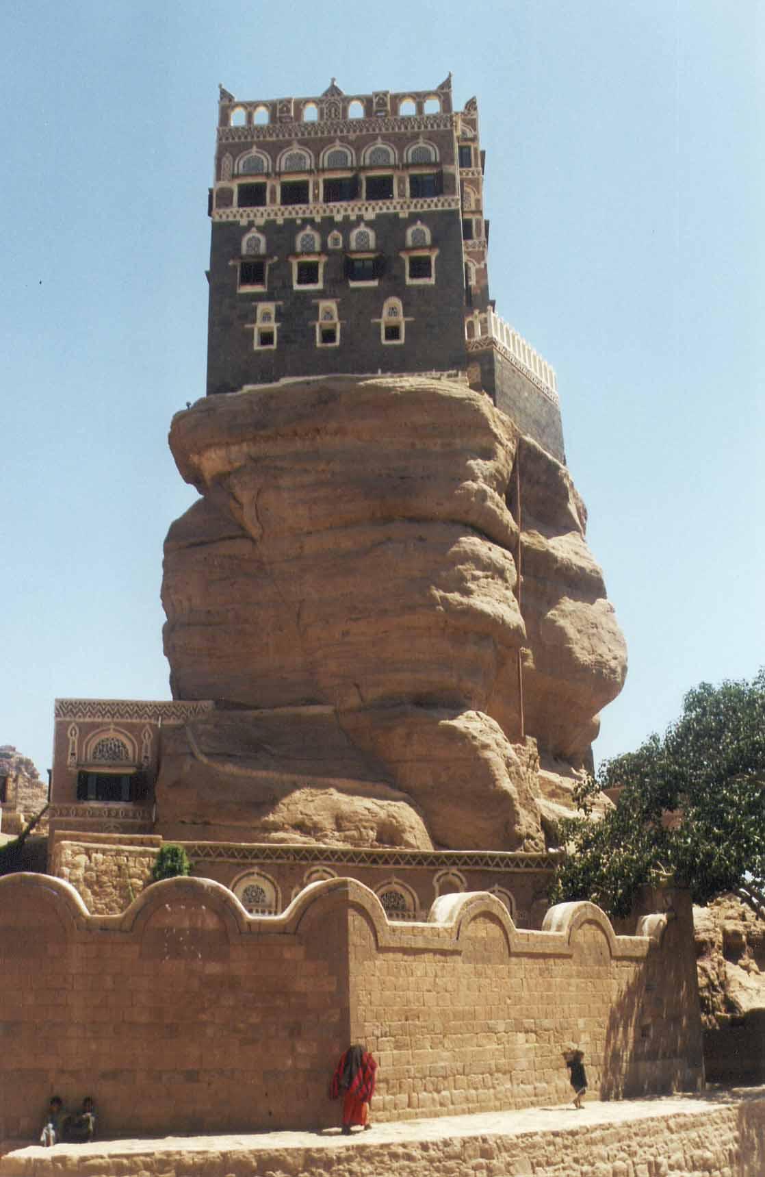 castle04 Дворец Имама Яхья в Йемене