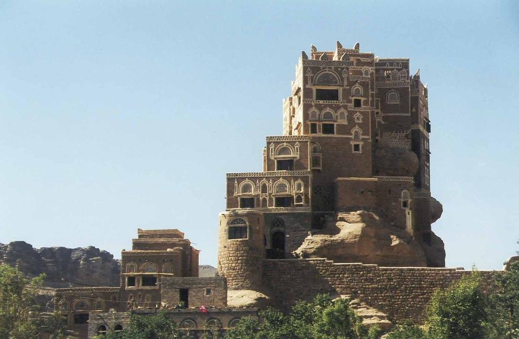 castle05 Дворец Имама Яхья в Йемене