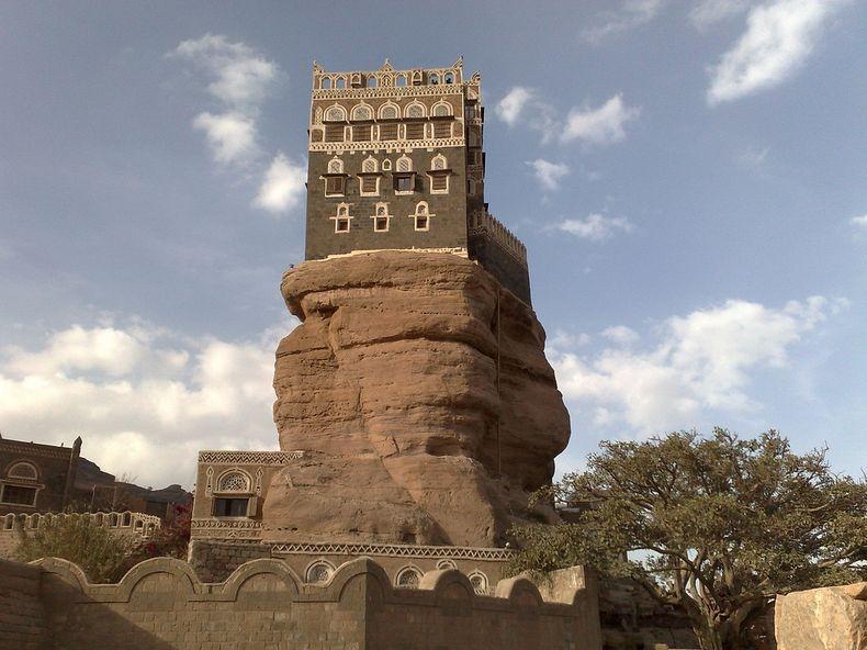 castle06 Дворец Имама Яхья в Йемене