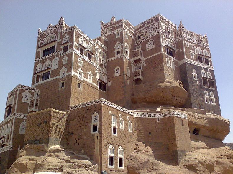 castle07 Дворец Имама Яхья в Йемене