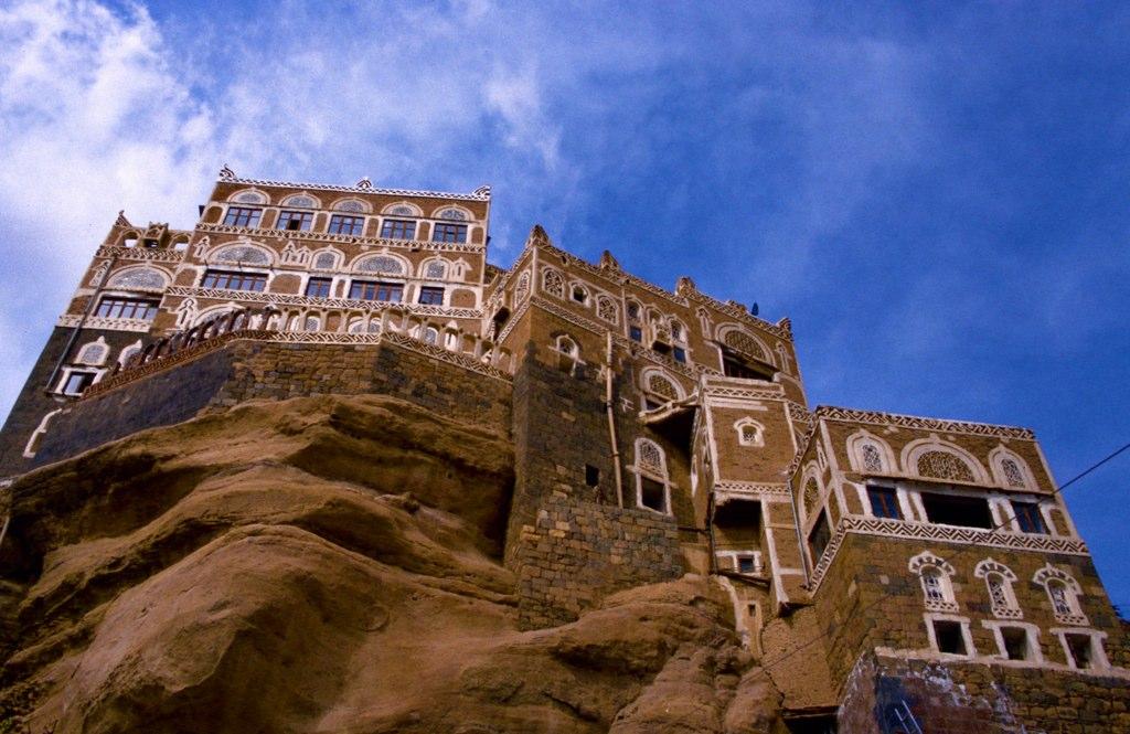 castle08 Дворец Имама Яхья в Йемене