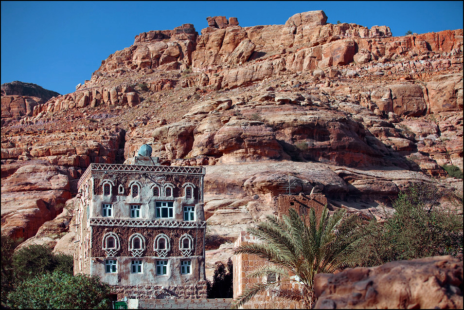 castle09 Дворец Имама Яхья в Йемене