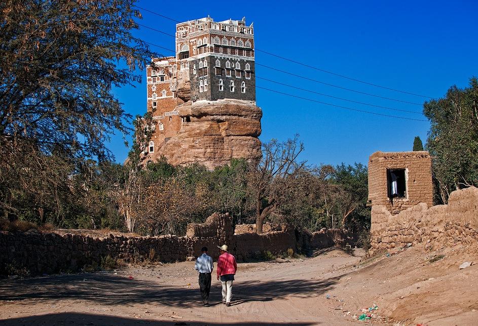 castle10 Дворец Имама Яхья в Йемене