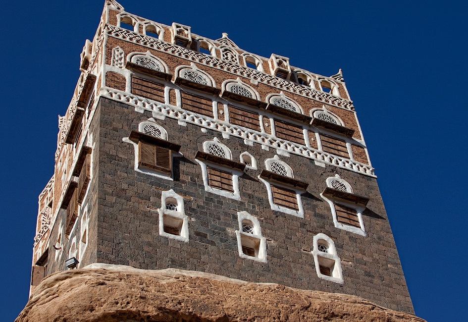 castle11 Дворец Имама Яхья в Йемене
