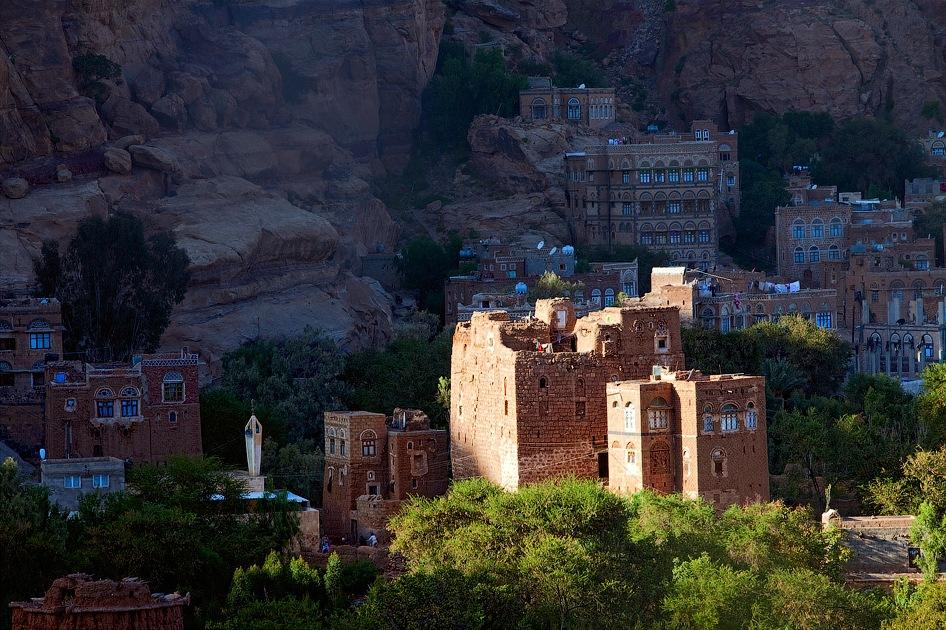 castle12 Дворец Имама Яхья в Йемене
