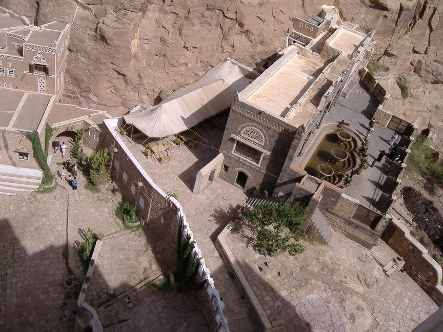 castle15 Дворец Имама Яхья в Йемене