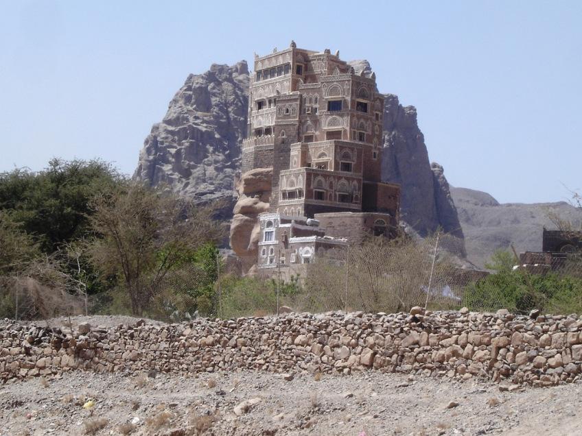 castle16 Дворец Имама Яхья в Йемене