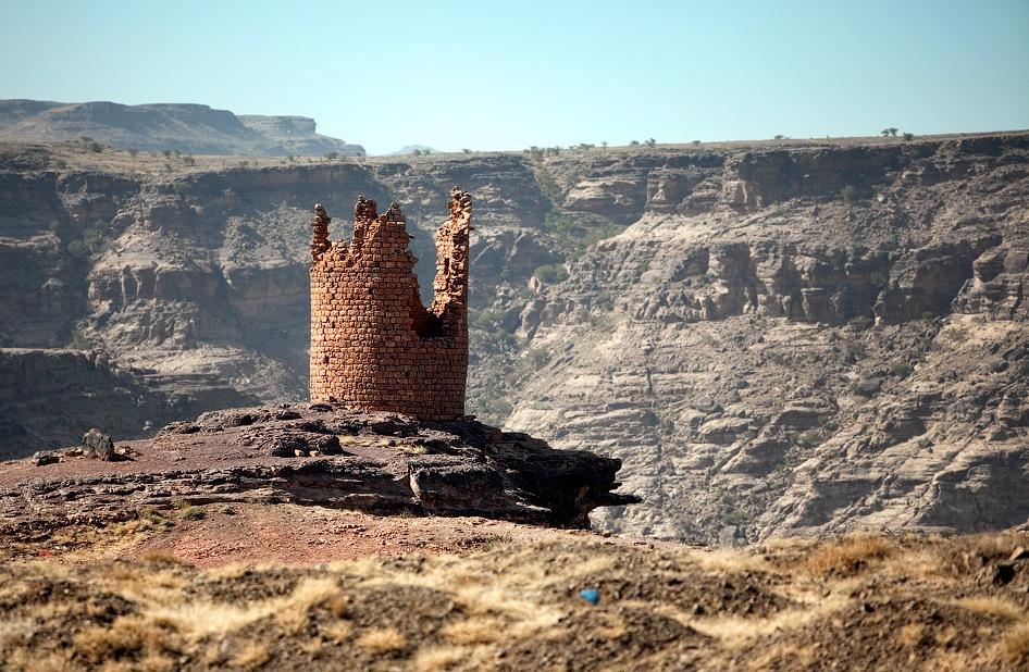 castle18 Дворец Имама Яхья в Йемене