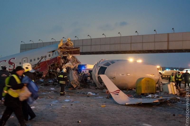 Авиакатастрофа во Внуково