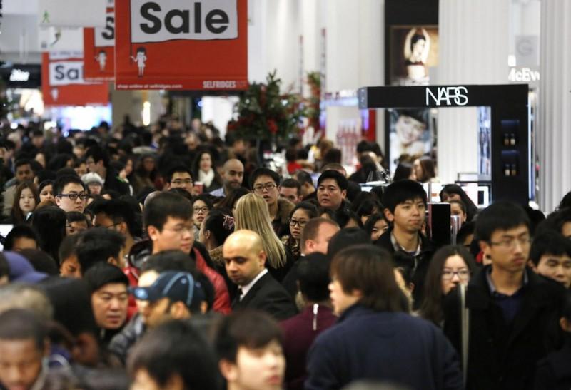 Сумасшедший шоппинг в «День подарков»