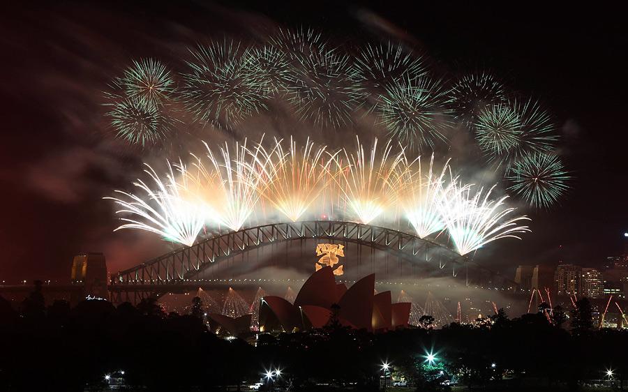 fireworks041 Новогодние фейерверки разных стран