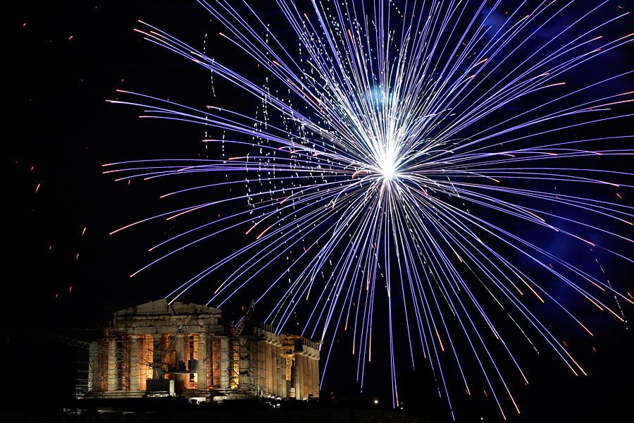 fireworks111 Новогодние фейерверки разных стран