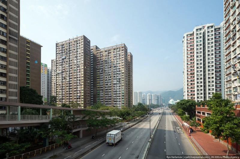 Спальные районы Гонконга