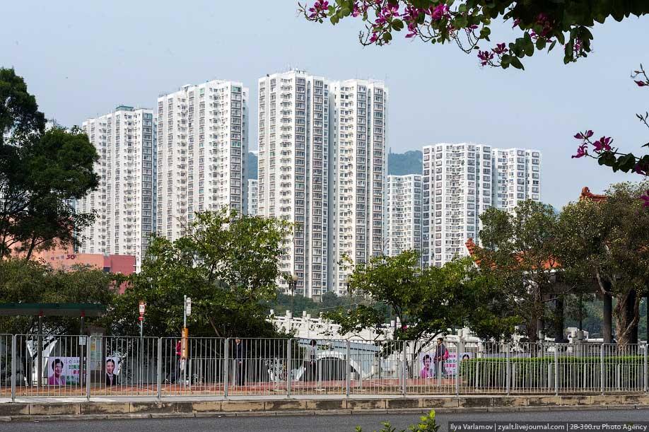 hongkong01 Спальные районы Гонконга