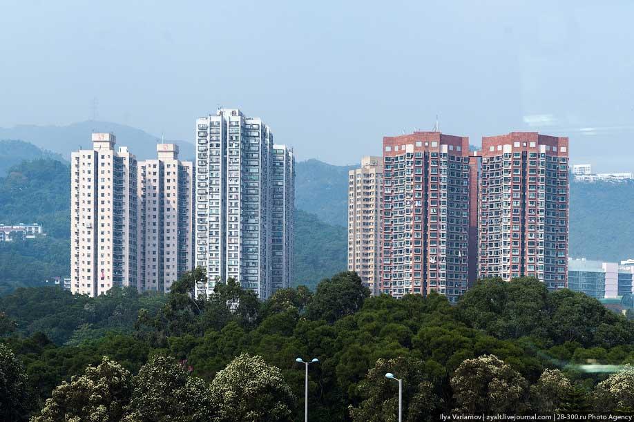 hongkong02 Спальные районы Гонконга