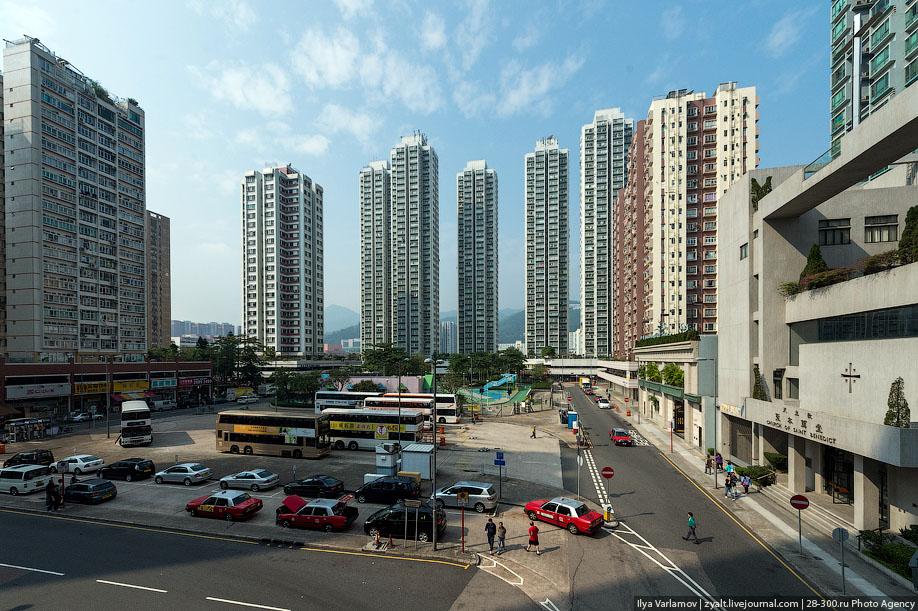 hongkong04 Спальные районы Гонконга