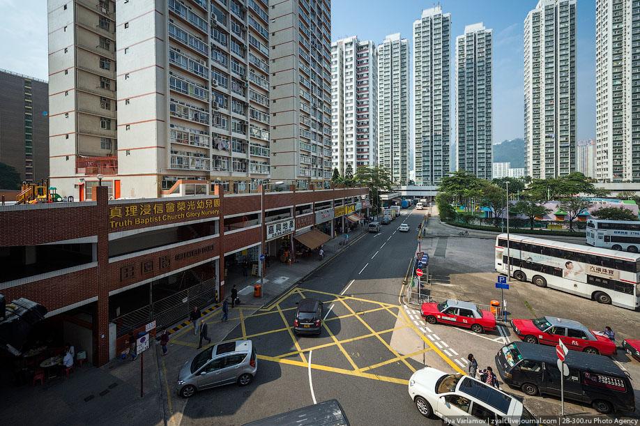 hongkong05 Спальные районы Гонконга