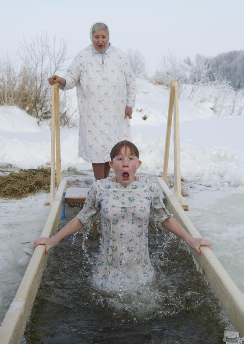 Картинка прикольные к крещению