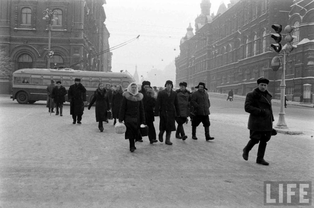 moscow 59 03 Холодная Москва 59 го