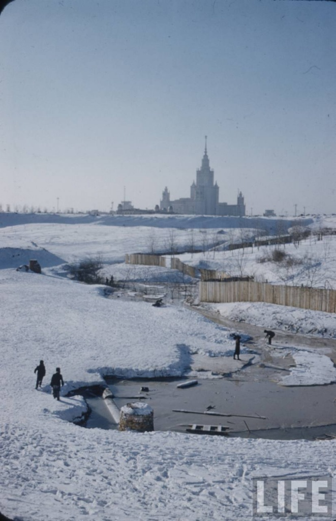 moscow 59 11 Холодная Москва 59 го