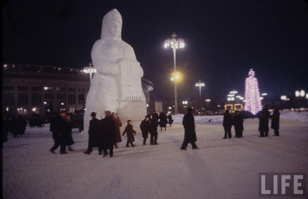 moscow 59 31 Холодная Москва 59 го