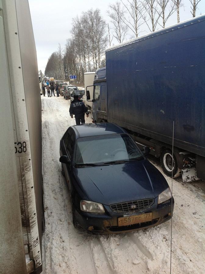 moskvasanktpeterburg 10 Трасса Москва — Санкт Петербург: что произошло?