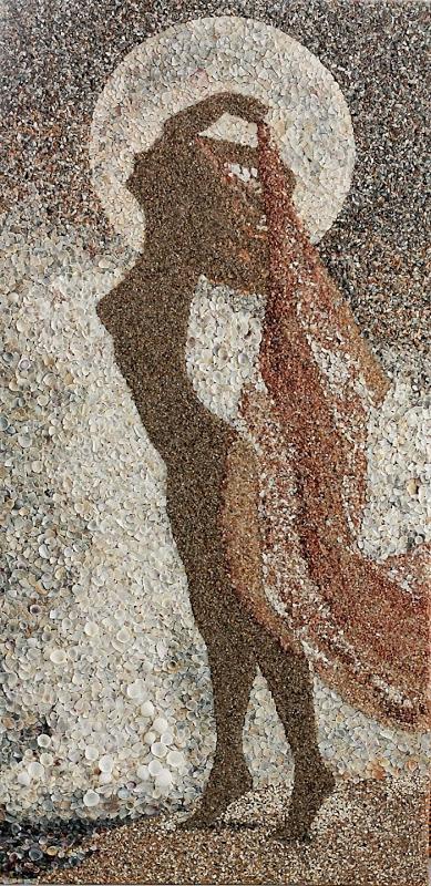 mozaikaizpeska 11 Мозаика из песка и ракушек от Светланы Иванченко