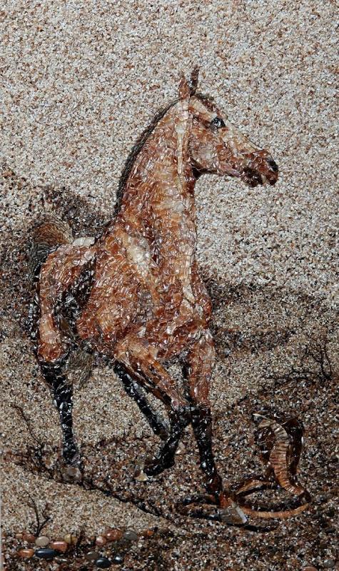 mozaikaizpeska 12 Мозаика из песка и ракушек от Светланы Иванченко