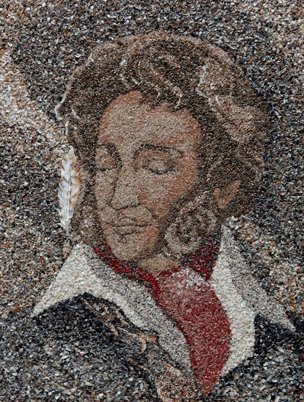 mozaikaizpeska 14 Мозаика из песка и ракушек от Светланы Иванченко