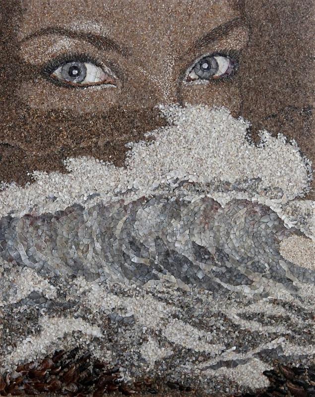mozaikaizpeska 5 Мозаика из песка и ракушек от Светланы Иванченко
