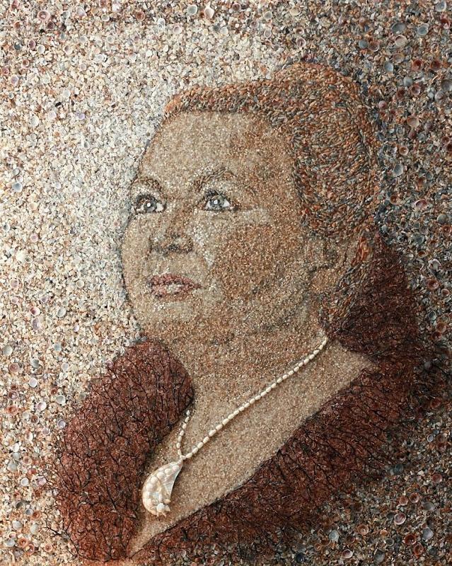 mozaikaizpeska 6 Мозаика из песка и ракушек от Светланы Иванченко